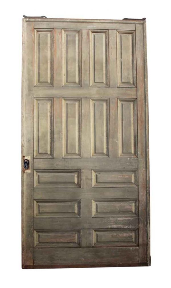 94.25 in H Fourteen Panel Pocket Door