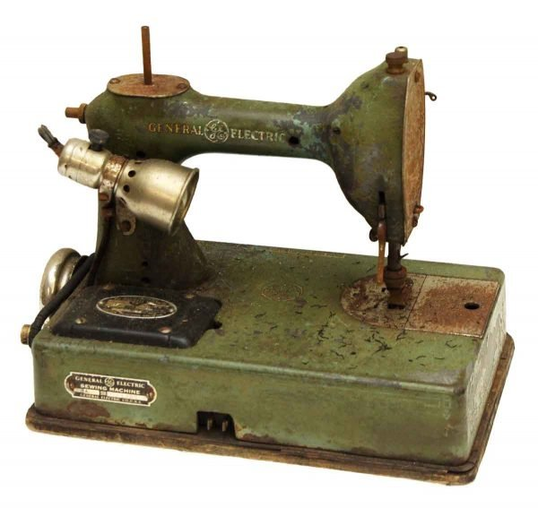 General Electric Antique Sewing Machine
