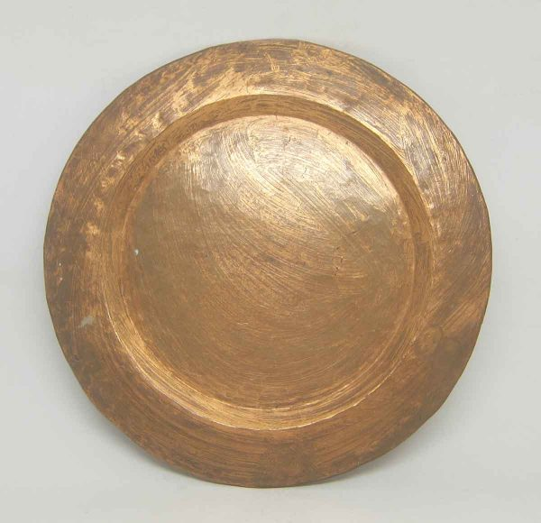 Plain Copper Serving Serving Plate