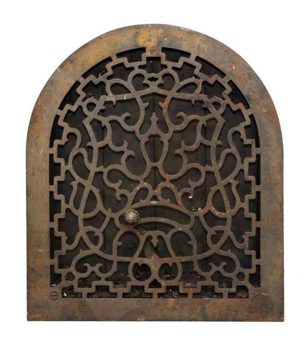 Iron Heat Wall Grate Cover