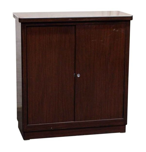 Metal Wood Like Cabinet