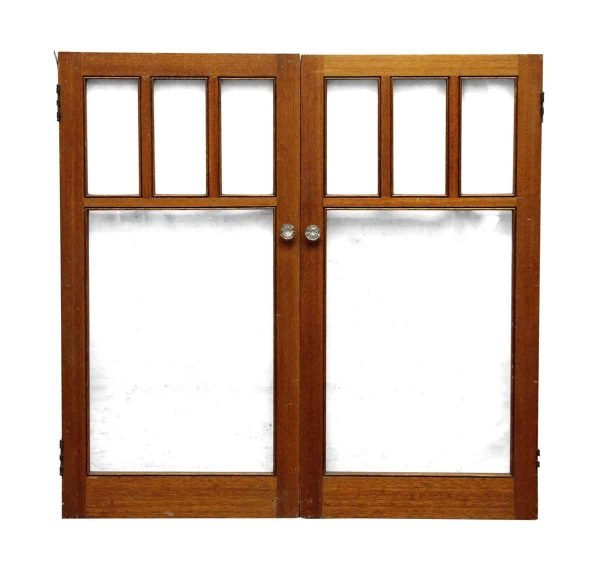 Pair of Arts & Crafts Style Cabinet Doors
