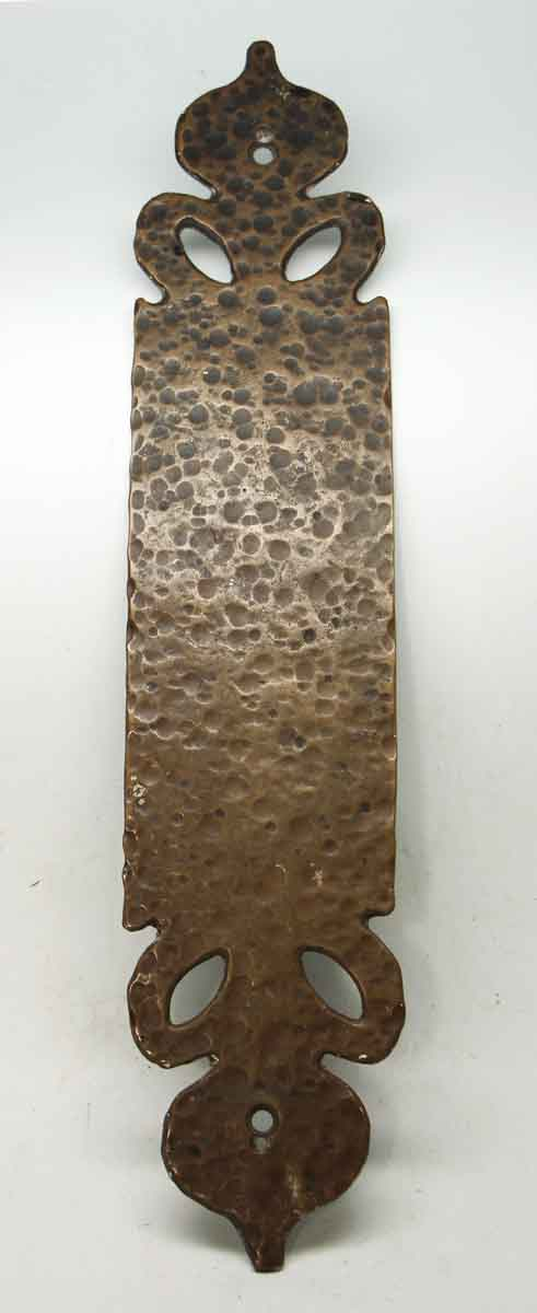 Bronze Hammered Push Plate