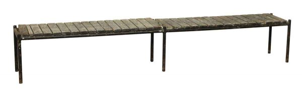 Long Eight Ft. Outdoor Bench