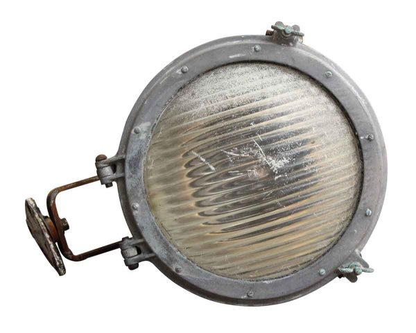 Ship Light with Vintage Lens