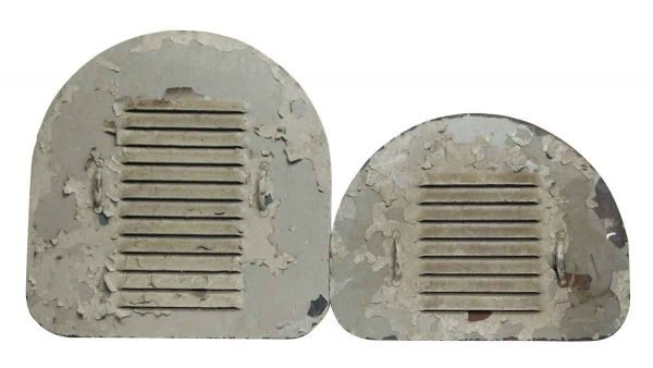Pair of Arched Grates