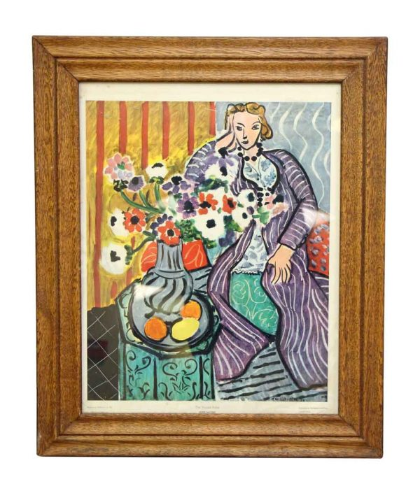 Framed Matisse Painting from Baltimore Art Museum