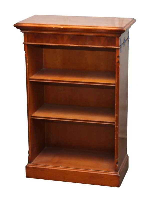 Wooden Bookcase with Two Shelves