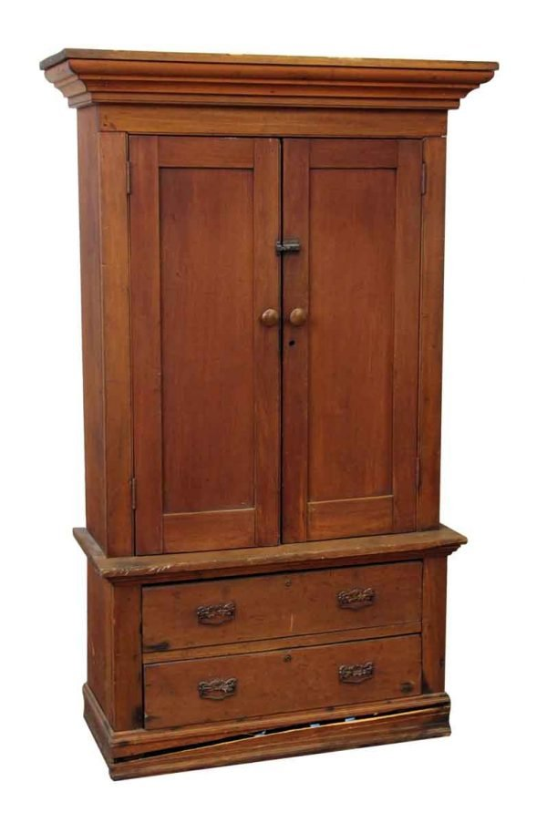 American Style Wooden Cabinet with Bottom Drawers