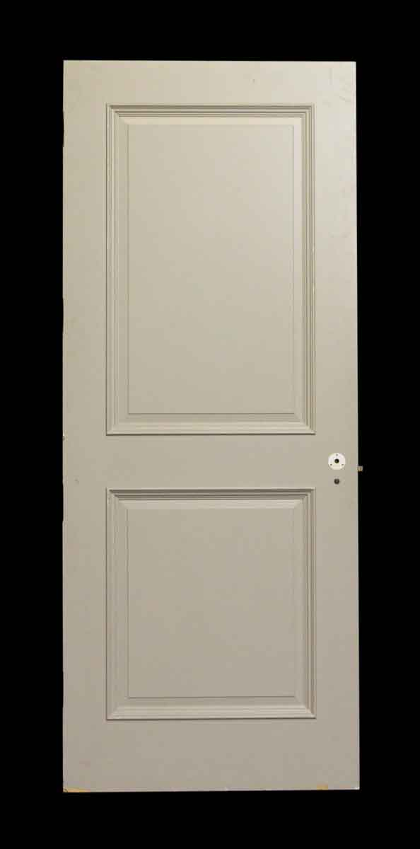 Single Light Gray Door with Two Panels