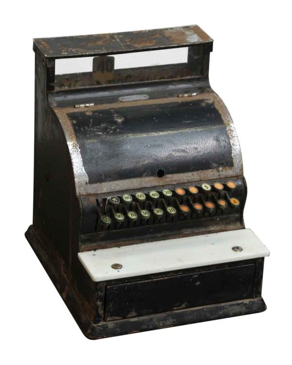 Black National Cash Register