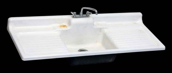 Large White Porcelain Sink Top