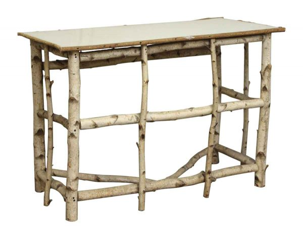 Table with Tree Branch Legs