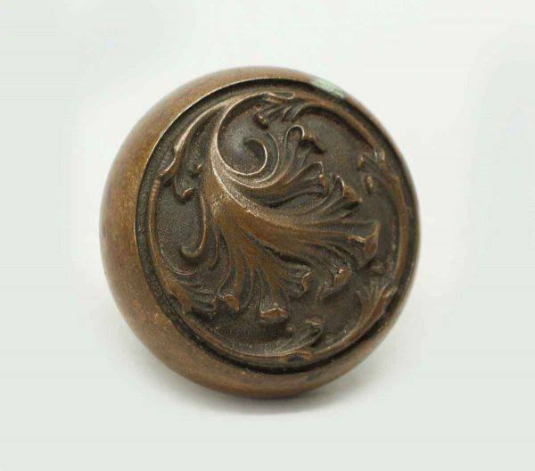 Collectors Quality Wrought Bronze Knob