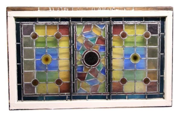 Stained Glass Rectangular Window