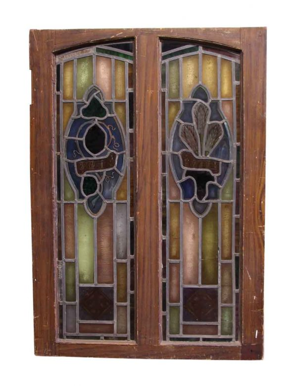 Double Pane Stained Glass Window