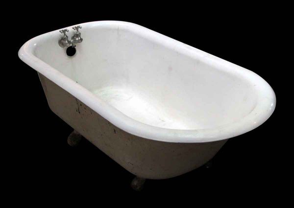 White Claw Foot Tub with Original Hardware
