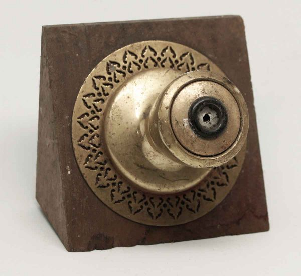 Doorknob with Oval Rosettes