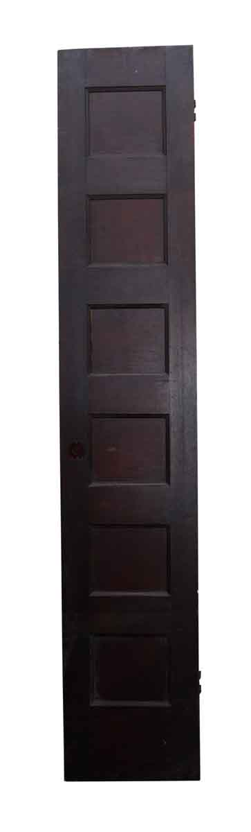 Narrow Single Six Panel Door