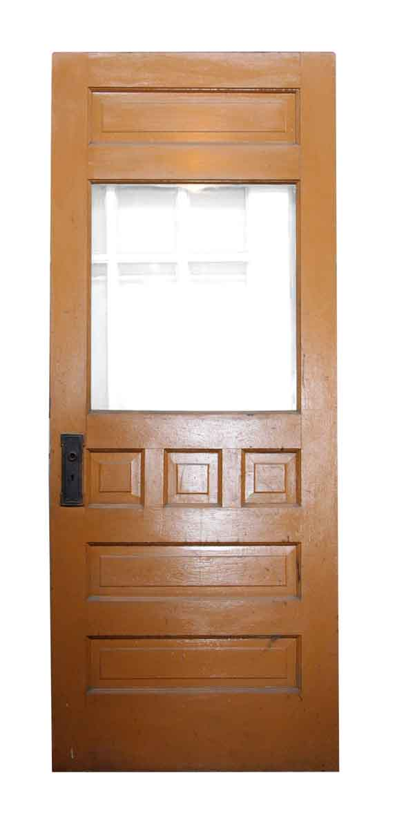 Single Door with Seven Panels