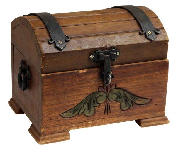 Small Wooden Storage Chest