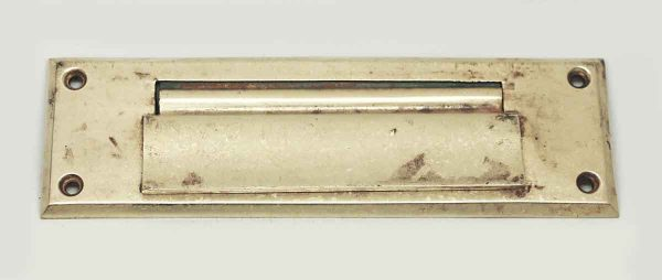 Brass Vintage Mail Slot Cover