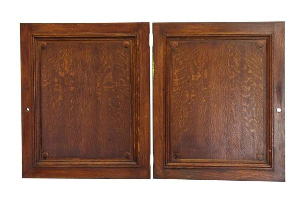 Pair of Wooden Panels