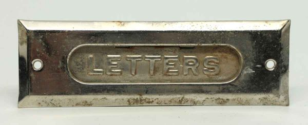 Refurbished Letters Brass Mail Slot