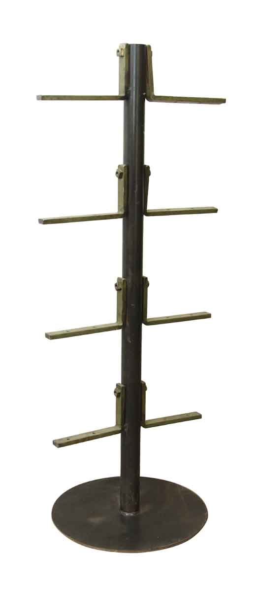 Double Sided Iron Shelving Industrial Supports