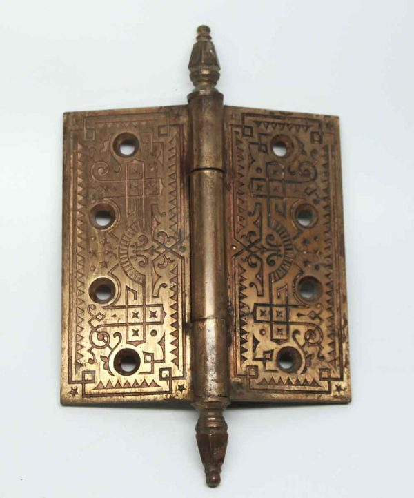 Bronze Decorative Steeple Tip Hinge