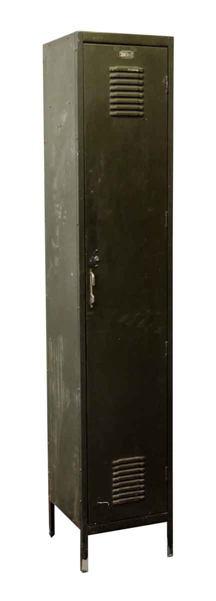 Tall Green Reclaimed Locker