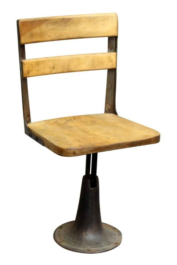 Swivel Chair with Iron Base