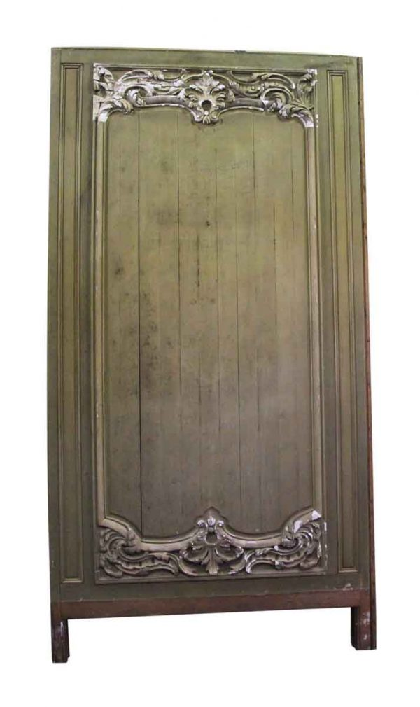 Carved French Provincial Wooden Panel Set