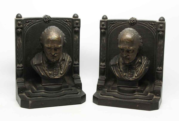 Figural Bradley & Hubbard Bookends