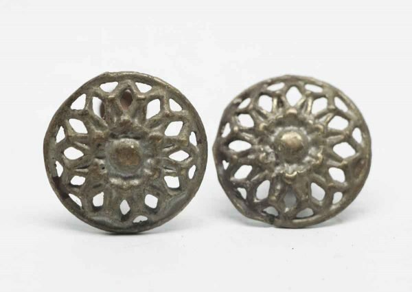 Cut Out Pair of Decorative Pulls