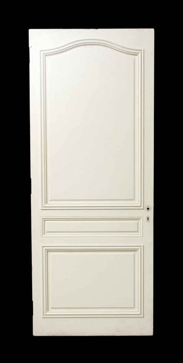 White Wooden French Provincial Door