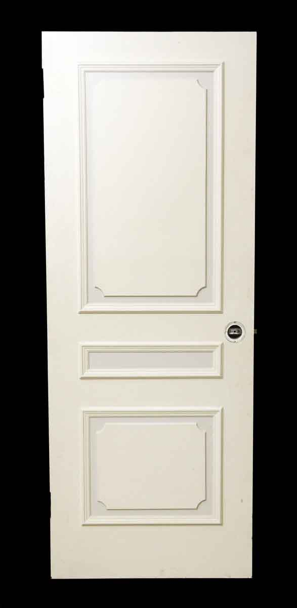 French Provincial Style White Wood Door