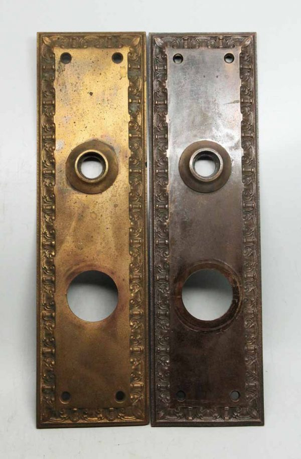 Pair of Victorian Back Plates