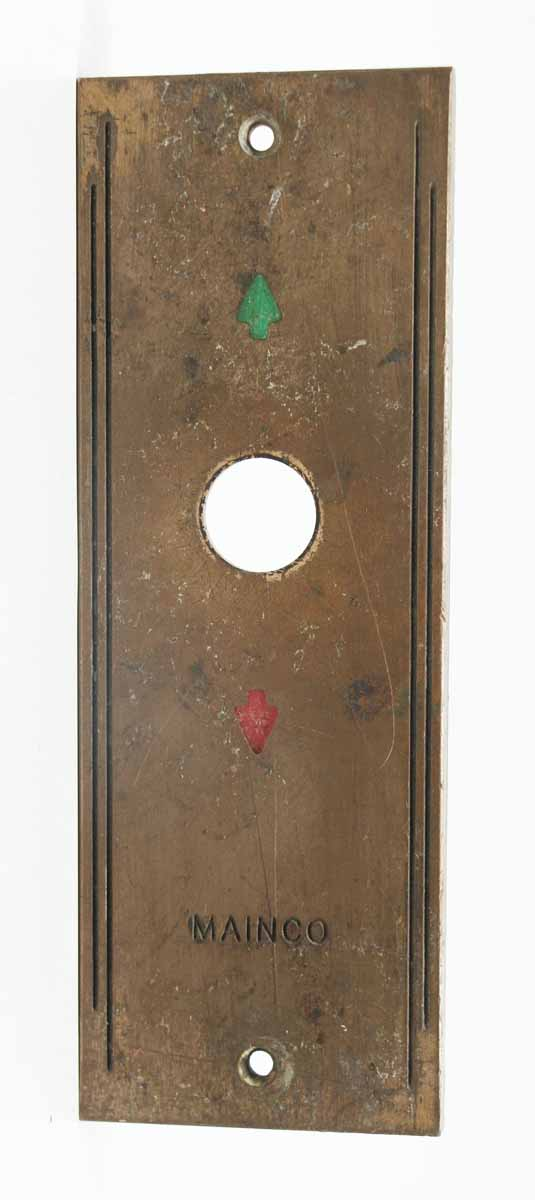 Mainco Elevator Up & Down Plate
