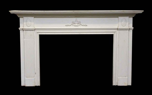 Neoclassical Style Federal American Wooden Mantel