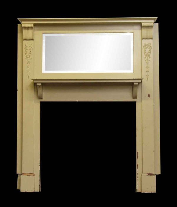 Victorian Double Mantel with Corbels & Applied Details