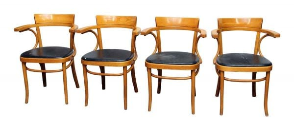 Set of Four Thonet Style Chairs