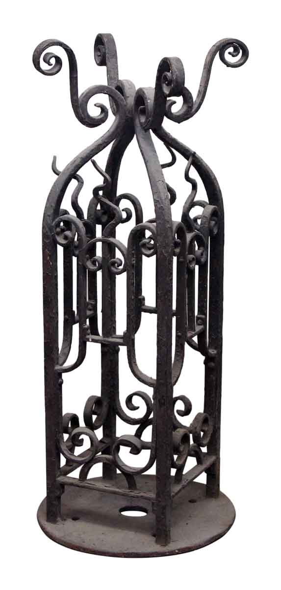 Pair of Nicely Wrought Iron Bases