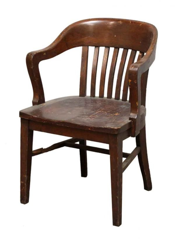 Antique Bankers Chair