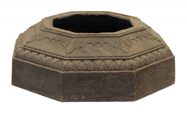 Decorative Cast Iron Octagon Shaped Base