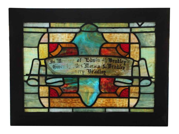 Multi Colored Stained Glass Window