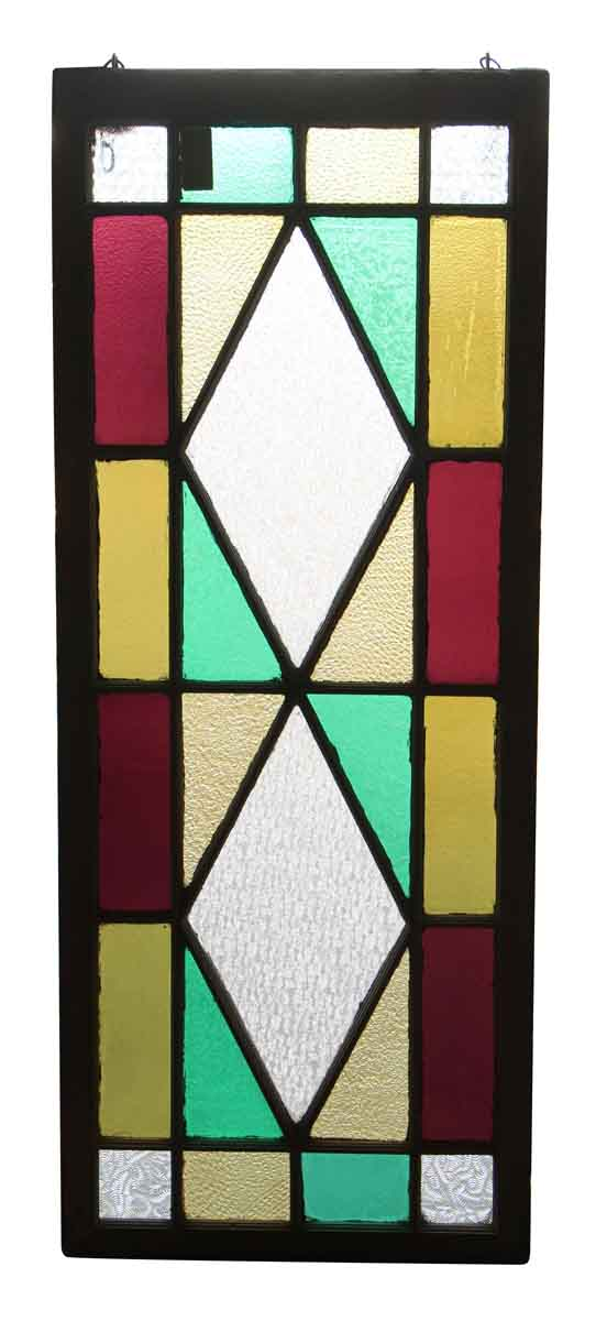 Colorful Textured Stained Glass Window