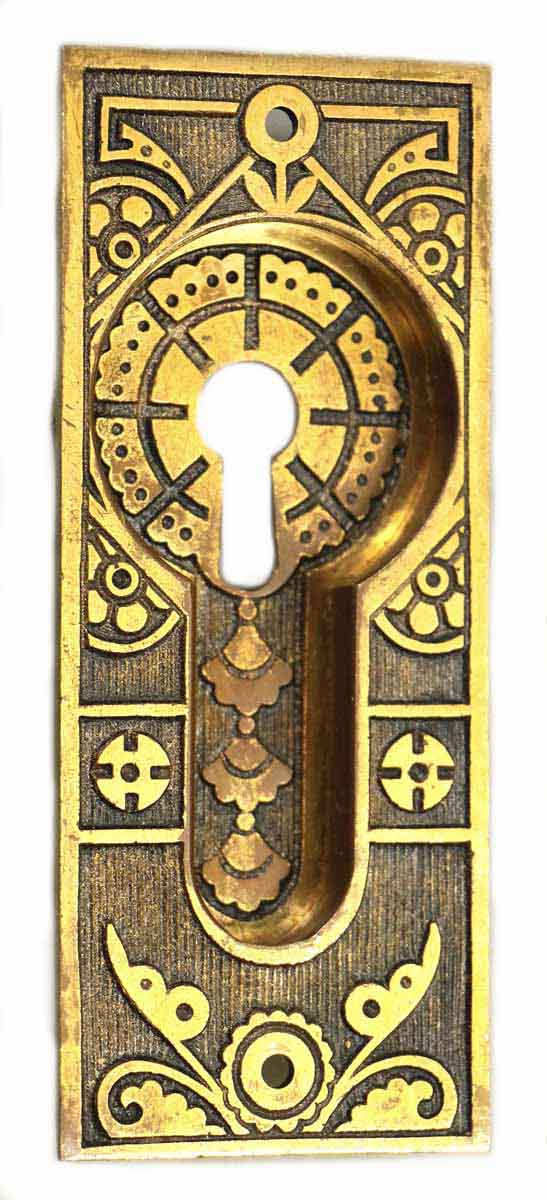 Bronze Aesthetic Recessed Keyhole Cover