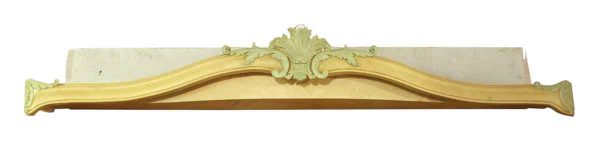 Carved Wood French Window Valances