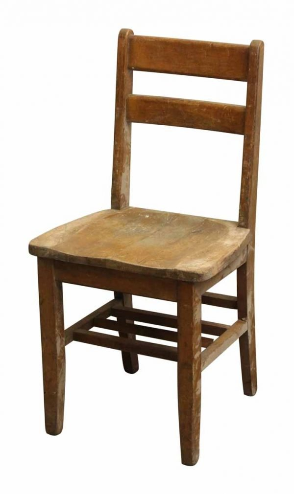 Small Wooden School Chair